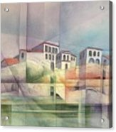Italian Reflections Acrylic Print