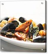 Italian Traditional Seafood Stew  Acrylic Print