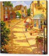 Italian Village Acrylic Print
