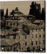 Italian Villas Acrylic Print