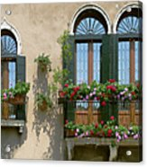 Italian Windows Acrylic Print