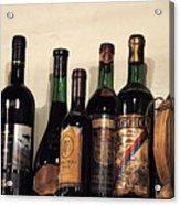 Italian Wine Acrylic Print