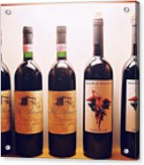 Italian Wines Acrylic Print