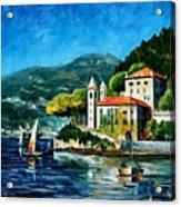 Italy - Lake Como - Villa Balbianello Acrylic Print