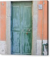 Italy - Door Five Acrylic Print