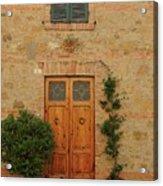 Italy - Door Nine Acrylic Print