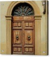 Italy - Door One Acrylic Print