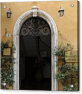 Italy - Door Thirteen Acrylic Print