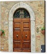 Italy - Door Twelve Acrylic Print