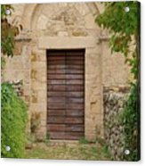 Italy - Door Twenty Five Acrylic Print