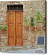 Italy - Door Twenty Acrylic Print