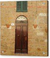 Italy - Door Twenty One Acrylic Print