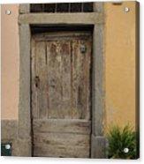 Italy - Door Twenty Three Acrylic Print