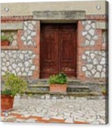 Italy - Door Twenty Two Acrylic Print