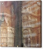 Italy, Florence, Duomo And Campanile Acrylic Print