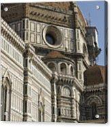 Italy, Florence, Facade Of Duomo Santa Acrylic Print