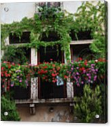 Italy Veneto Marostica Main Square Acrylic Print