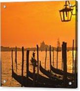 Italy Venice Riva Degli Schiavoni , Canale Grande Riva Degli Sch Acrylic Print
