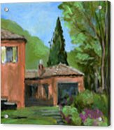 Italy001 Somewhere In Sicily Acrylic Print