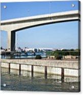 Itchen Bridge Southampton Acrylic Print