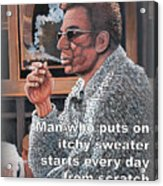 Itchy Sweater Acrylic Print