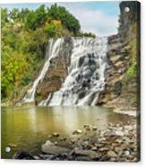 Ithaca Falls Acrylic Print