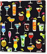 Its 5  Oclock Somewhere Cocktails Acrylic Print
