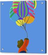 It's A Bird, It's A Plane, It's Easter Acrylic Print