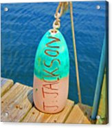 Its A Buoy Acrylic Print