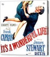 Its A Wonderful Life, Donna Reed, James Acrylic Print