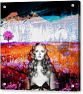 It's Always About Alice Acrylic Print