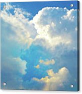 It's Clouds Illusions I Recall 2 Acrylic Print