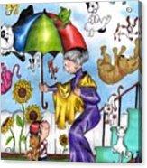 It's Raining... Acrylic Print