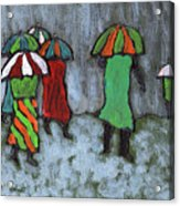 It's Raining It's Pouring Acrylic Print