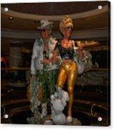Its Vegas Baby Acrylic Print