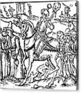 Ivan Iv Vasilevich (1530-1584) Acrylic Print