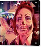 Zombie On Patrol Acrylic Print
