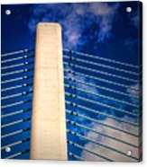 Ivory Tower At Indian River Inlet Acrylic Print