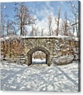 Ivy Bridge Winter Acrylic Print