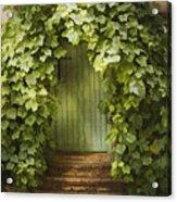Ivy Door Acrylic Print