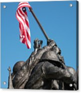 Iwo Jima 1945 - War Memorial, Cape Coral, Florida Acrylic Print
