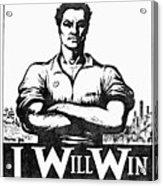 Iww Poster, 1917 Acrylic Print