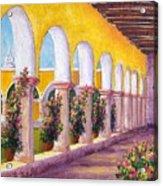 Izamal Arches Acrylic Print