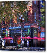 J And M Cafe Acrylic Print