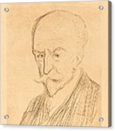 J.-k. Huysmans Acrylic Print