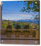 J Paul Getty Center Museum Terrace Acrylic Print