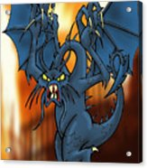 Jabberwock Acrylic Print