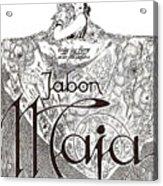 Jabon Acrylic Print