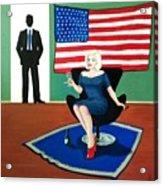 Jack And Marilyn Acrylic Print