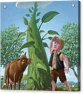 Jack And The Beanstalk Acrylic Print
